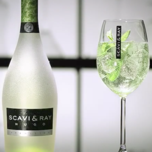 Scavi & Ray Flasche mit Glas